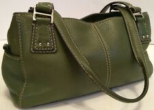 FOSSIL Women's Green Genuine Leather Purse Handbag