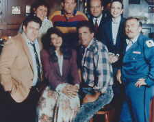 CHEERS CAST 8 X 10 PHOTO WITH ULTRA PRO TOPLOADER