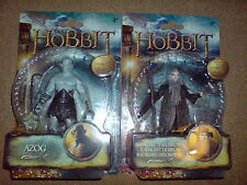 "THE HOBBIT - THE DESOLATION OF SMAUG -3.75"" AZOG+RADAGAST W2 ACTION FIGURE NEW"