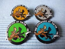 4 TIM UND STRUPPI  !!! TINTIN !!! PINS THE ADVENTURE OF TIN TIN VON HERGE