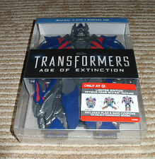 *Target Exclusive* 3 Disc -Transformers Age of Extinction! Blu-Ray/DVD!  NEW!