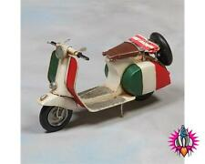 NEW RETRO ITALIA VESPA SCOOTER MOD METAL ORNAMENT FIGURE