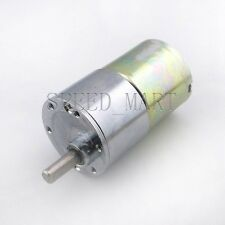 Reversible 37mm 12V DC 5 RPM Gear-Box Speed control Electric Motor Low noise