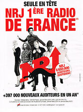 PUBLICITE ADVERTISING 124  2014   NRJ radio   seule en tete 1° radio de France