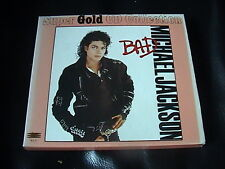 MICHAEL JACKSON BAD CD 24K SUPER GOLD CD COLLECTION BOXSET 1ST PRESS HK EDITION