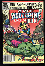 What If (1977) #31 Wolverine Had Killed the Hulk? First Print Fantastic Four VF-