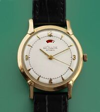 Vintage 40s Solid 14k Le Coultre Vacheron Power Reserve Bumper Automatic Watch