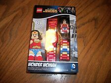 "BRAND NEW'THE LEGO DC SUPER HEROS ""WONDER WOMAN""- BUILDABLE WATCH # 8020271"