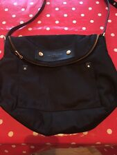 Marc Jacobs genuine Cross Body Saddle Bag , black