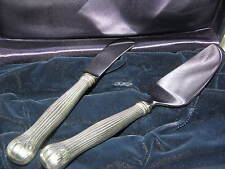 TIFFANY & Co Sterling Silver Cheese Knives Cutlery Circa 1960 Pristin Condition