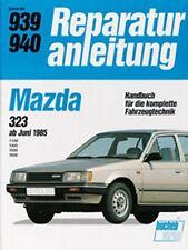 WERKSTATTHANDBUCH REPARATURANLEITUNG WARTUNG 939 MAZDA 323 ab 06.1985