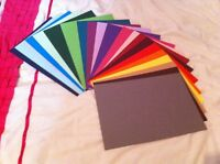 10 A4 SHEETS 240GSM CARD STOCK FREE POSTAGE *YOU CHOOSE COLOUR*