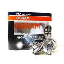 Osram 2er Set Halogen Lampen H7 Night Breaker Unlimited 64210NBU 110% mehr Licht