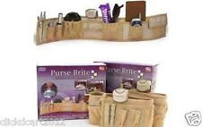 Purse Brite Purse Bag Organizer With Purse Brite Light Lamp