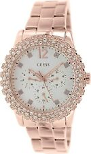 Guess Women's U0335L3 Silver Stainless-Steel Quartz Watch