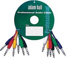 6 x jack estéreo de cables de parche 0.9 m conduce Pa Lead Cable
