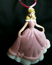 Disney Princess Cinderella Christmas Ornament PVC pink Gown