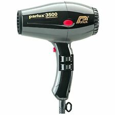 Parlux 3500 Supercompact Hair Dryer for Styling. Powerful 1900 Watt BLACK