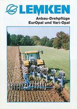 Lemken Anbau-Drehpflüge EurOpal Prospekt 4/04