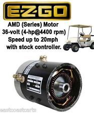 EZGO 36 volt SERIES Golf Cart High Speed Motor (20mph with stock controller)