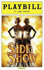 Playbill - Side Show - Nov 2014 - Erin Davie and Emily Padgett