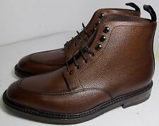 Loake Anglesey Grain Brown Boot 10 F - Slight Seconds RRP £245 (3047)
