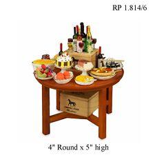 Party Buffet Table Dollhouse Miniature 1:12 Scale REUTTER PORCELAIN