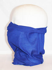 Multi use Biker Navy Blue Cycling Neck Tube Scarf Snood Face Mask Warm Bandana