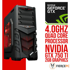 SUPER FAST Quad Core 8GB RAM 1TB Gaming PC NVIDIA GTX 750 Ti 2GB Graphics 216302