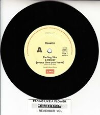 """ROXETTE  Fading Like A Flower (Every Time You Leave) NEW 7"""" 45 + juke box strip"""