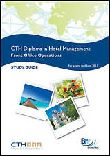 Confederation of Tourism and Hospitality (CTH) - Front Office Operations:...