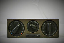 #004 VOLKSWAGEN VW GOLF MK4 CLIMATE BLOCK AIRCON HEATER CONTROL UNIT  WITH TRIM