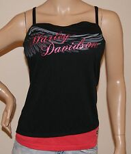 WOMENS SEXY HARLEY DAVIDSON TUBE TOP WITH SHELF BRA  Sz 2XL / XXL  NWT