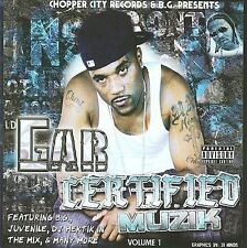 B.G. / CHOPPER CITY RECORDS-GAR: CERTIFIED MUZIK  CD NEW