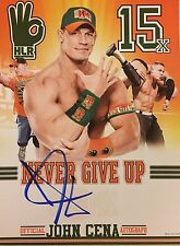 WWE AUTHENTIC JOHN CENA 2016 AUTOGRAPH 11x14 PHOTO