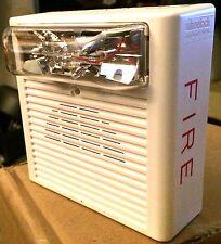 Wheelock AS-24MCC-FW Fire Alarm Audible/ Strobe, WHITE, NEW