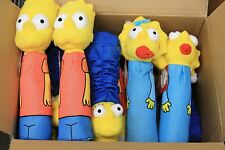 15X Wholesale Dog Toys The Simpsons Bottle Heads 3 Designs 11 inches
