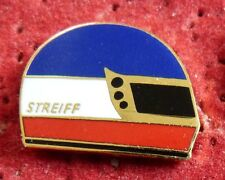 PIN'S VERSION PETIT CASQUE PILOTE UNDY F 1 FORMULA ONE DTM USA STREIFF EGF MFS