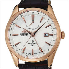 Orient Polaris GMT Dual Time Automatic Watch with Power Reserve Meter #DJ05001W