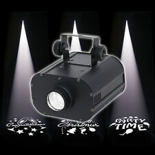 Equinox Promo Spot Gobo Projector 25W LED Light - Print Your Own Gobo Image!