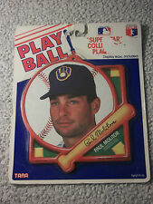 MLB Baseball Play Ball Superstar Collectible Plaque PAUL MOLITOR BREWERS