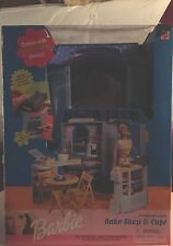 Barbie bake shop and cafe #67316-93, year 2000, Vintage/Rare