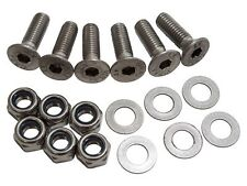 Land Rover Defender Stainless Steel Bonnet Bolt Kit DA1135 - BK 0189