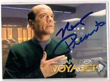 Star Trek Signed Card Auto Voyager Series 1 EMH Doctor Robert Picardo v157