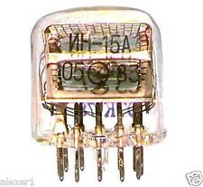 8x  IN-15A RUSSIAN NIXIE TUBES  New, Old Stock