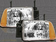 1995 1996 1997 CHEVY S10/BLAZER EURO CRYSTAL HEADLIGHTS