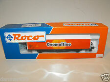 Vintage Train Roco;  Freight Cars Cars HO 46399 Ovomaltine NEW CODITION!
