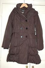 New 10 Warehouse Feather & Down Filled Winter Jacket Coat Shawl collar & Hood