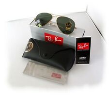 New Mens Sunglasses Ray-Ban RB3025 L0205 58mm Aviator Gold
