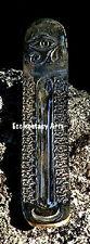 """Brass Moon-Stars Eye of Horus-Egyptian Ra Incense Burner 9"""" Ash Catcher NEW {:-)"""